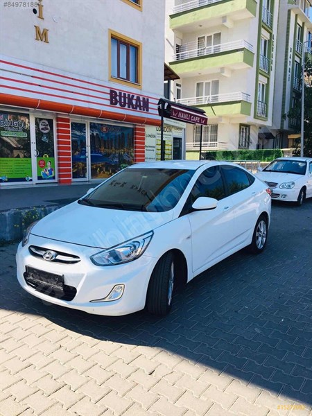 Galeriden Hyundai Accent Blue 1.6 Crdi Mode Plus 2016 Model Osmaniye 57.000 Km Beyaz