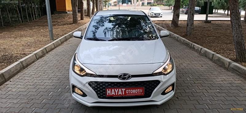 Galeriden Hyundai I20 1.4 Mpi Style 2018 Model Osmaniye 58.500 Km Beyaz