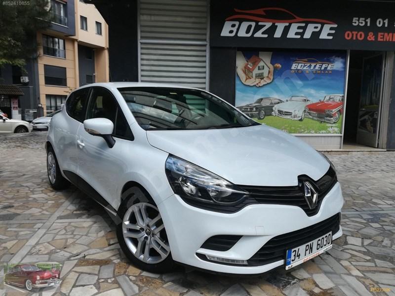 Galeriden Renault Clio 1.5 Dci Joy 2017 Model İstanbul 77.700 Km Beyaz