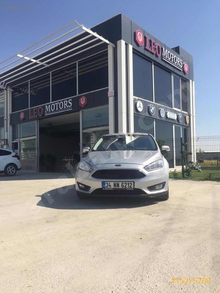 Galeriden Ford Focus 1.5 Tdci Trend X 2015 Model Batman 144.000 Km Gri