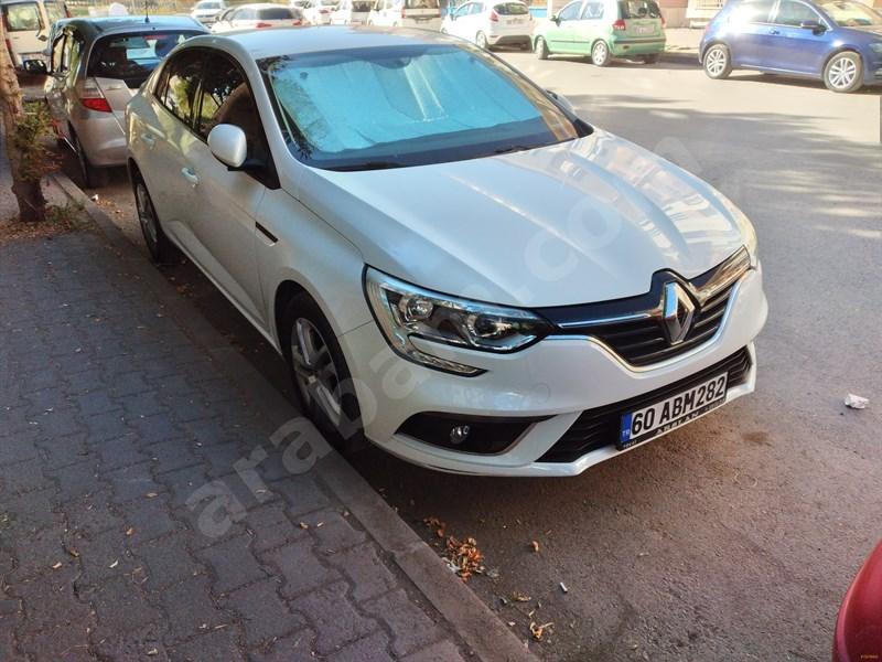 Sahibinden Renault Megane 1.6 Joy 2018 Model Sivas 47.500 Km Beyaz