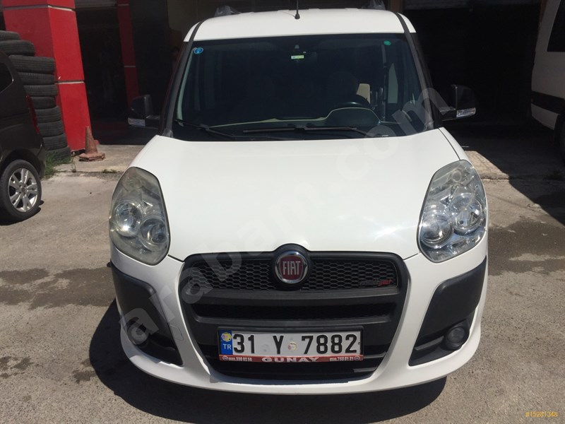 Galeriden Fiat Doblo Combi 1.3 Multijet Premio 2013 Model Hatay 52.000 Km Beyaz