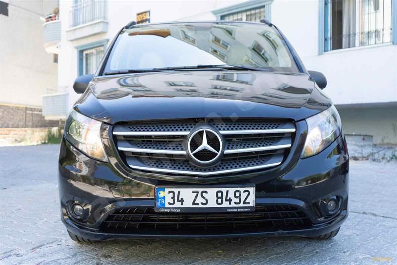 Sahibinden Mercedes - Benz Vito 114 Bluetec 2017 Model Hatay 95.000 Km Siyah