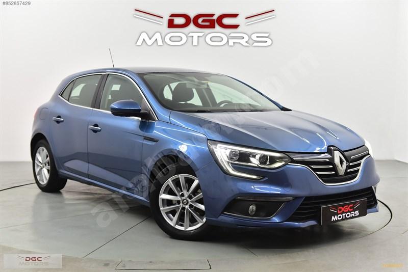 Galeriden Renault Megane 1.5 Dci Touch 2018 Model İstanbul 83.000 Km Mavi