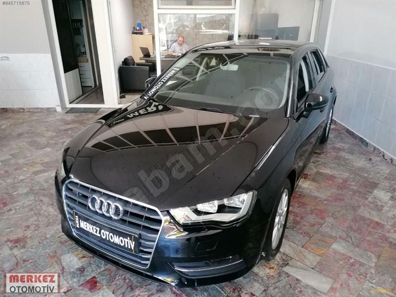 Galeriden Audi A3 Sportback 1.6 Tdi Attraction 2016 Model Bursa 48.000 Km Siyah