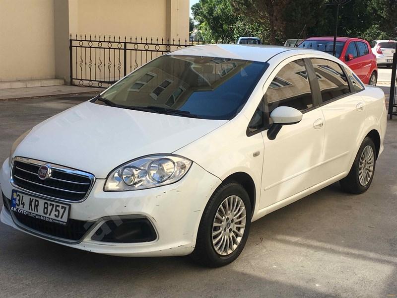 Sahibinden Fiat Linea 1.3 Multijet Active Plus 2014 Model İstanbul 186.000 Km Beyaz