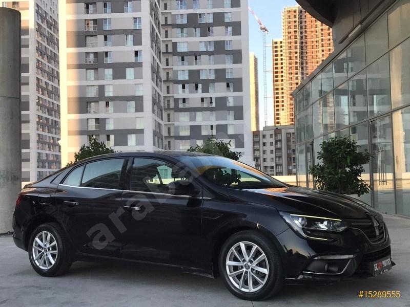 Galeriden Renault Megane 1.5 Dci Touch 2017 Model İstanbul 101.000 Km Siyah