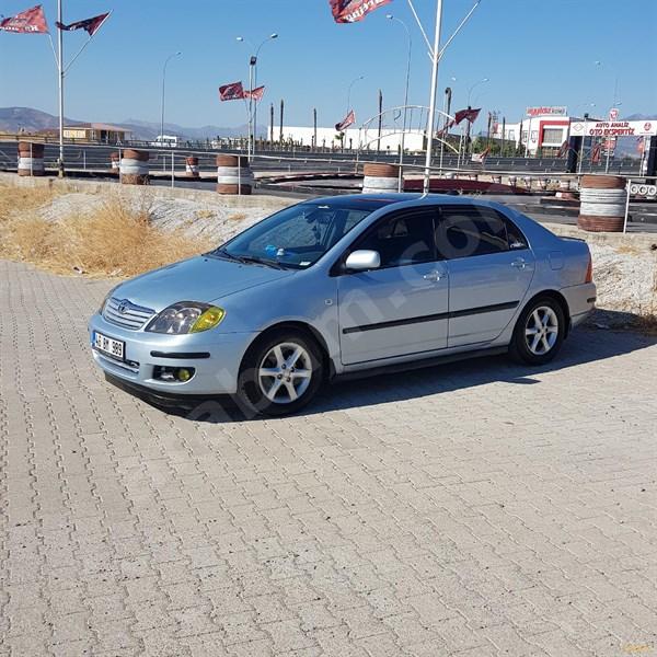 Sahibinden Toyota Corolla 1.6 Sol 2005 Model Kahramanmaraş 240.000 Km Mavi