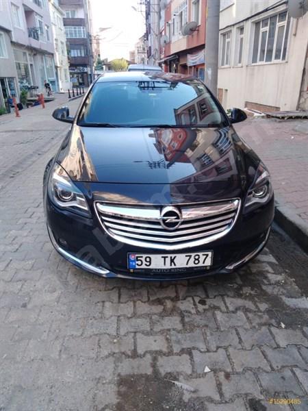 Sahibinden Opel Insignia 1.4 T Edition Elegance 2014 Model Tekirdağ 105.000 Km Siyah