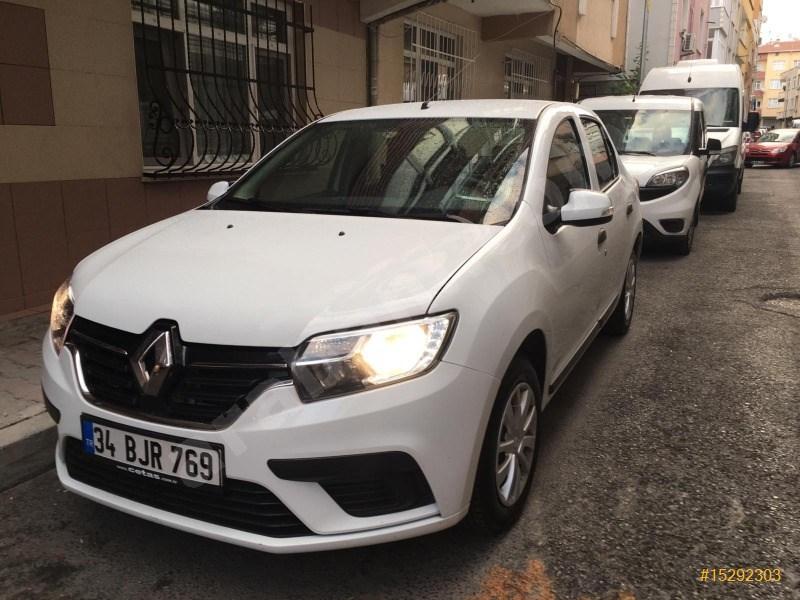 Sahibinden Renault Symbol 1.5 Dci Joy 2018 Model İstanbul 90.379 Km Beyaz