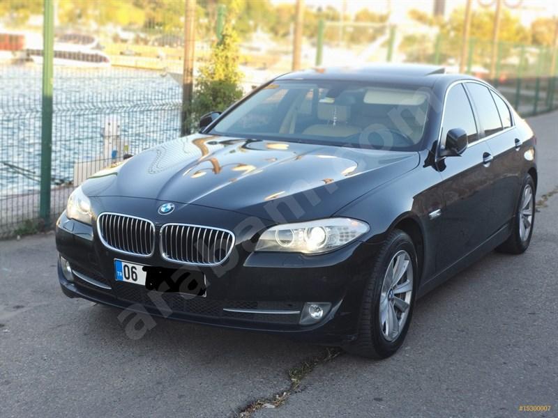 Sahibinden Bmw 5 Serisi 525d Xdrive Premium 2013 Model İstanbul 194.000 Km Siyah