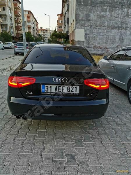 Sahibinden Audi A4 Sedan 2.0 Tdi 2014 Model Hatay 191.250 Km Siyah