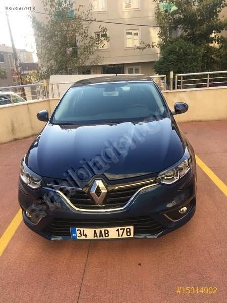 Sahibinden Renault Megane 1.5 Dci Touch 2016 Model İstanbul 64.000 Km Mavi