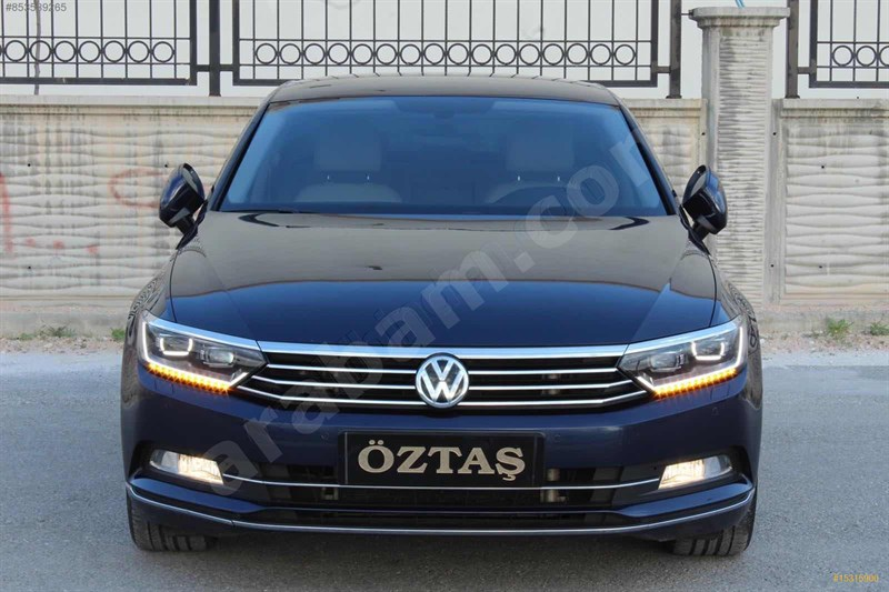 Galeriden Volkswagen Passat 1.6 Tdi Bluemotion Highline 2015 Model Niğde 85.000 Km Lacivert