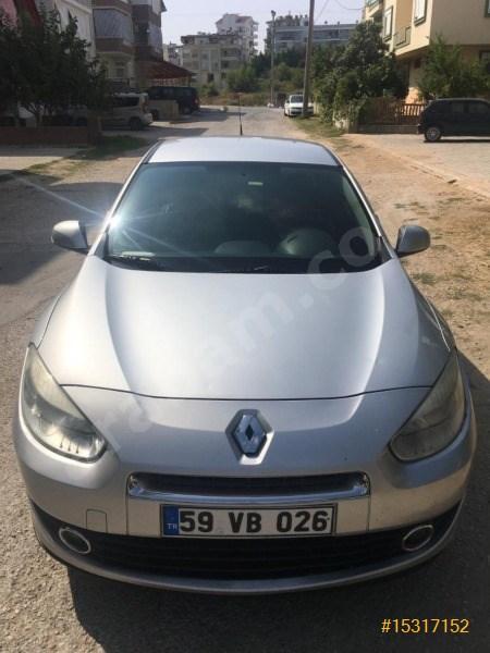 Sahibinden Renault Fluence 1.5 Dci Business 2012 Model şanlıurfa 240.000 Km Gri