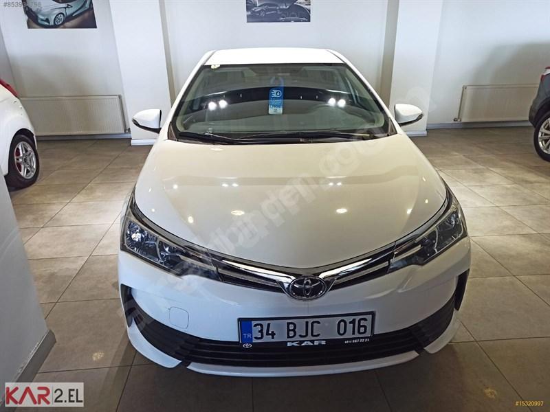 Galeriden Toyota Corolla 1.6 Life 2018 Model İstanbul 19.500 Km Beyaz