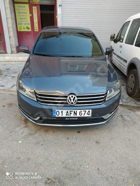 Sahibinden Volkswagen Passat 1.6 Tdi Bluemotion Highline 2011 Model Adana 263.000 Km -