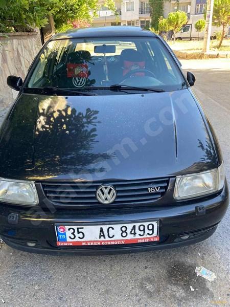 Sahibinden Volkswagen Polo 1.6 1997 Model İzmir 150 Km Siyah