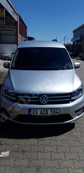 Sahibinden Volkswagen Caddy 2.0 Tdi Exclusive 2017 Model Afyonkarahisar 67.000 Km -