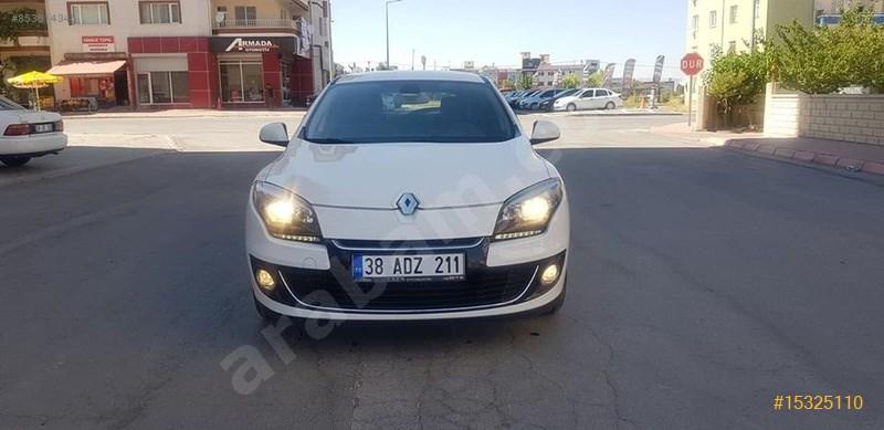 Sahibinden Renault Megane 1.5 Dci Icon 2013 Model Kayseri 163.000 Km Beyaz