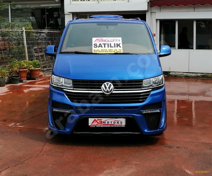 Galeriden Volkswagen Transporter 2.0 Tdi Camlı Van Comfortline 2019 Model İstanbul 11.450 Km Mavi