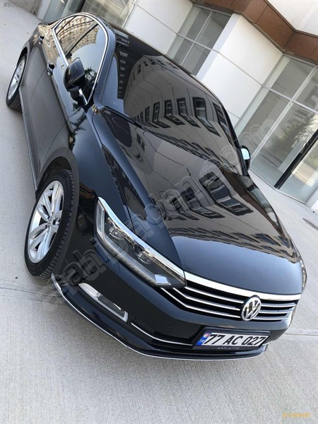 Sahibinden Volkswagen Passat 1.6 Tdi Bluemotion Highline 2015 Model Ankara 140.000 Km Siyah