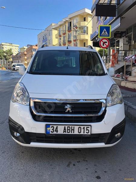 Sahibinden Peugeot Partner 1.6 Hdi Active 2017 Model İstanbul 91.800 Km Beyaz