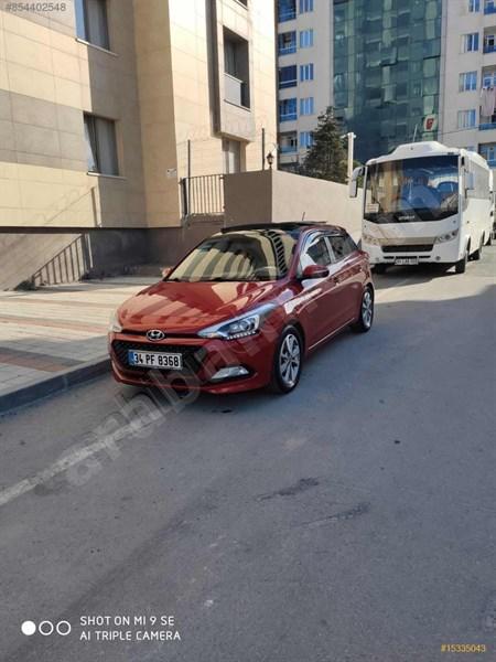 Sahibinden Hyundai I20 1.2 Mpi Style 2016 Model İstanbul 50.000 Km Kırmızı