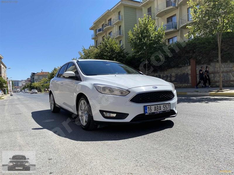 Galeriden Ford Focus 1.5 Tdci Trend X 2016 Model İstanbul 108.000 Km Beyaz