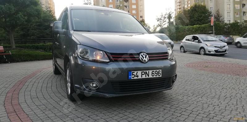 Galeriden Volkswagen Caddy 1.6 Tdi Comfortline 2013 Model İstanbul 233.000 Km Gri