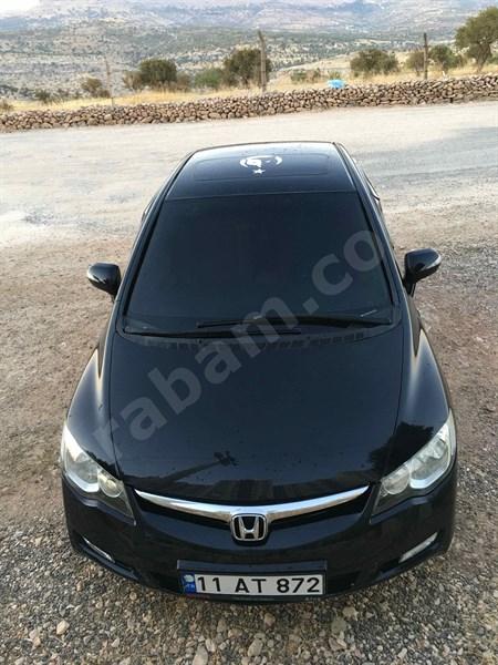 Sahibinden Honda Civic 1.6 I-vtec Elegance 2007 Model Mardin 167.000 Km Siyah