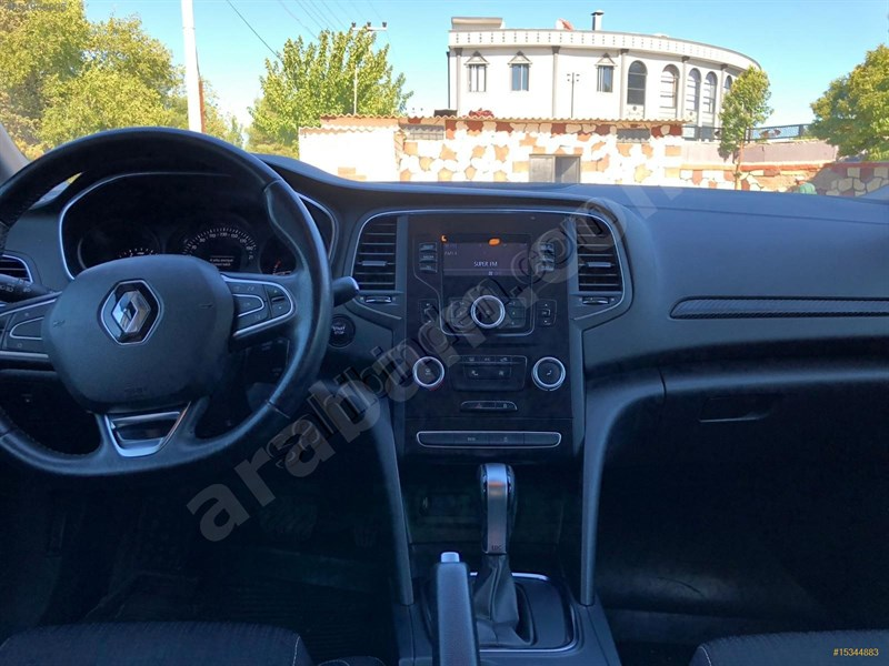 Galeriden Renault Megane 1.5 Dci Touch 2017 Model Gaziantep 129.000 Km Beyaz