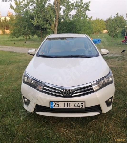 Sahibinden Toyota Corolla 1.33 Life 2014 Model Düzce 60.000 Km Beyaz