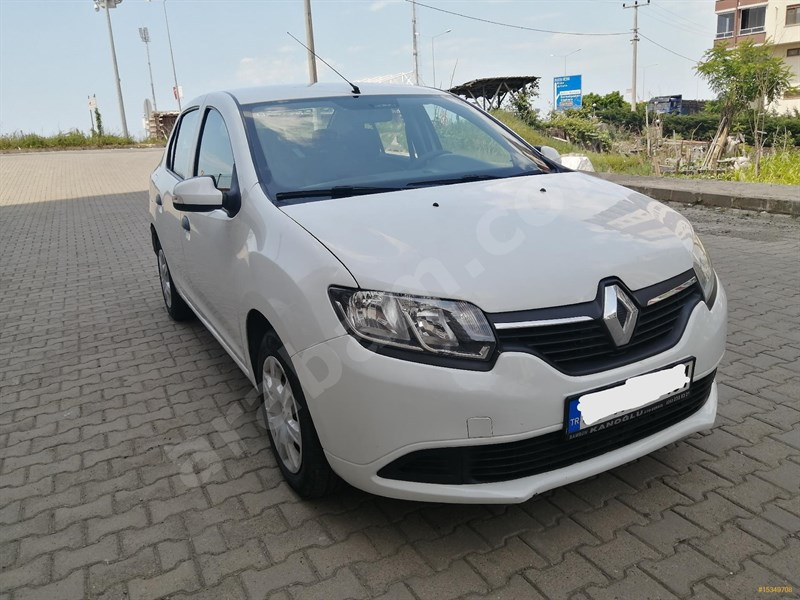 Galeriden Renault Symbol 1.5 Dci Joy 2015 Model çorum 117.000 Km Beyaz