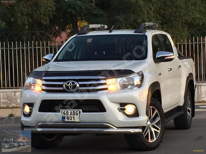 Galeriden Toyota Hilux 2.4 D-4d 4x2 Adventure 2017 Model Aksaray 112.000 Km Beyaz