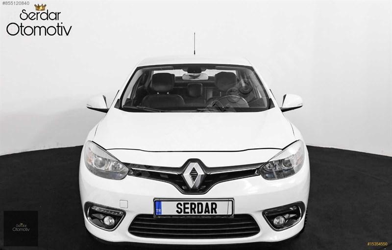 Galeriden Renault Fluence 1.5 Dci Icon 2016 Model Ankara 208.000 Km Beyaz