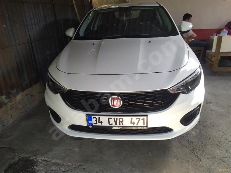 Sahibinden Fiat Egea 1.4 Fire Easy 2020 Model İstanbul 3.000 Km Beyaz
