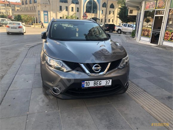 Sahibinden Nissan Qashqai 1 6 Dci Black Edition 2015 Model Izmir 67 000 Km Gri Titanyum 15355776 Arabam Com