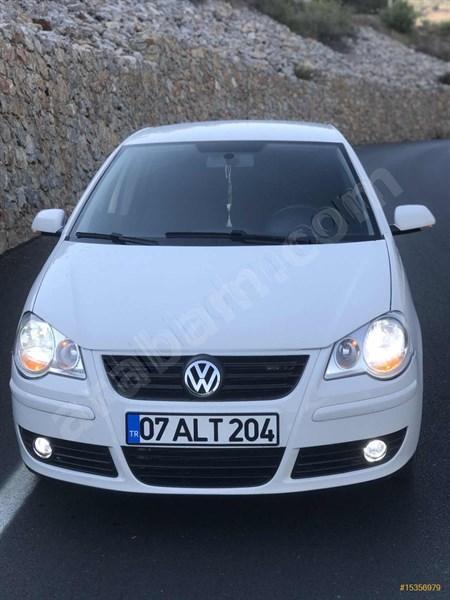 Sahibinden Volkswagen Polo 1.4 Trendline 2006 Model Antalya 91.500 Km Beyaz