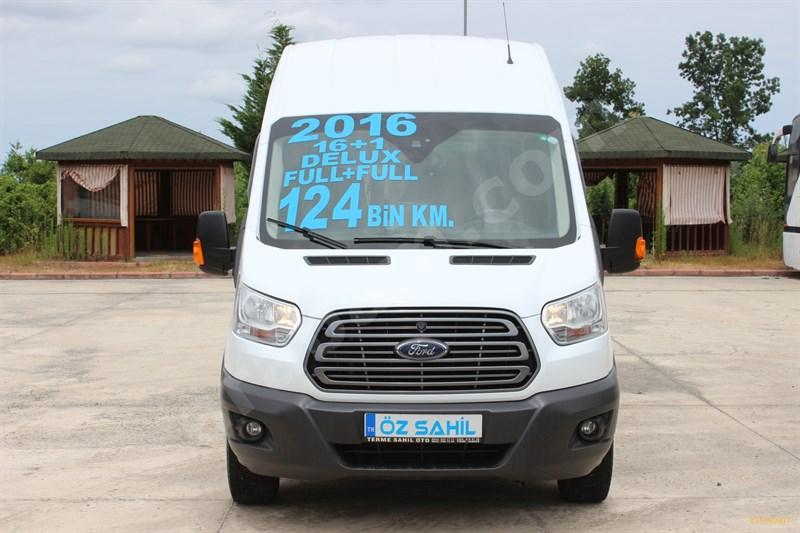 Galeriden Ford - Otosan Transit 16+1 2016 Model Samsun 124.000 Km Beyaz