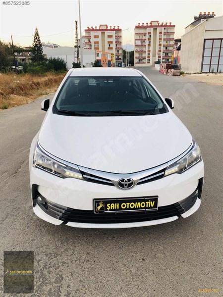 Galeriden Toyota Corolla 1.4 D-4d Active 2017 Model Antalya 124.304 Km Beyaz