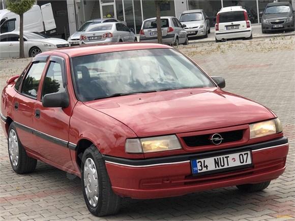 galeriden opel vectra 1.8 gl 1994 model çorum 278.000 km kırmızı