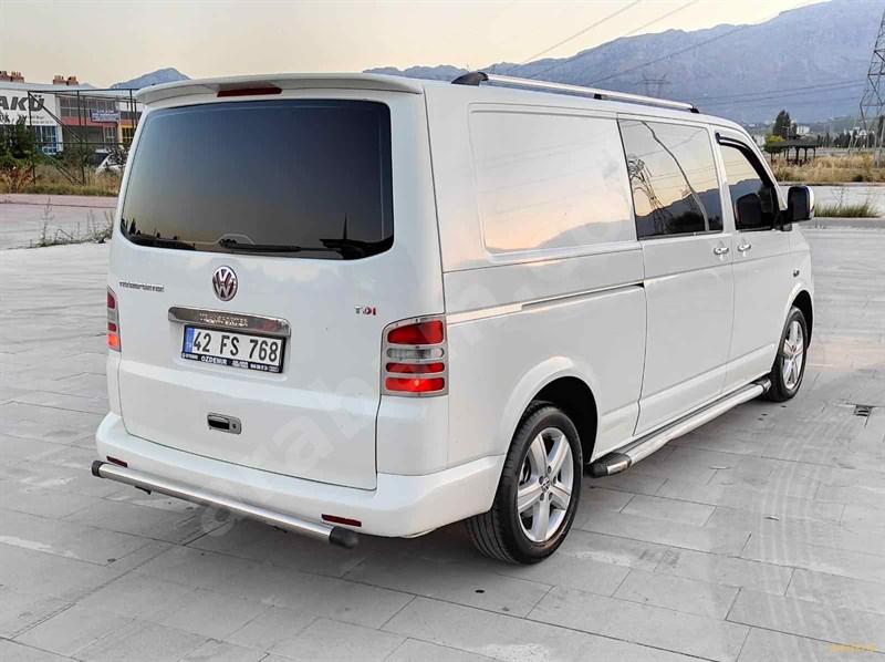 Sahibinden Volkswagen Transporter 2.5 Tdi City Van 2004 Model Konya 372.001 Km Beyaz