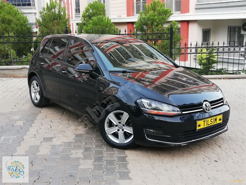 Galeriden Volkswagen Golf 1.6 Tdi Bluemotion Comfortline 2012 Model Hatay 195.000 Km Siyah