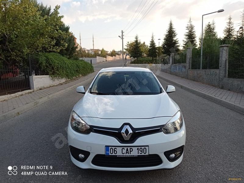 Sahibinden Renault Fluence 1.5 Dci Touch 2015 Model Ankara 113.000 Km Beyaz