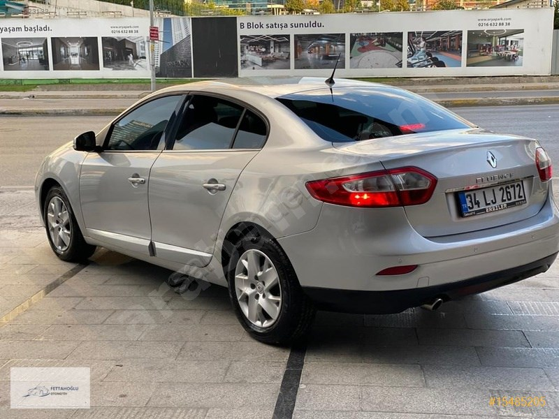 Galeriden Renault Fluence 1.5 Dci Touch 2014 Model İstanbul 128.000 Km Gri
