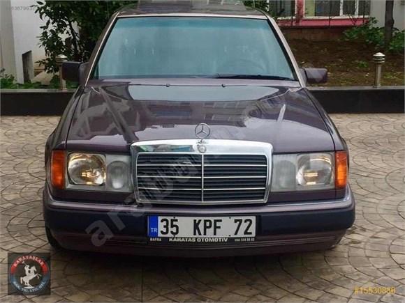 galeriden mercedes - benz 200 e 1990 model samsun 227.000 km kahverengi