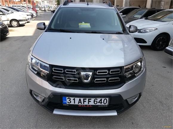 Galeriden Dacia Sandero 1.5 dCi Stepway 2018 Model Hatay