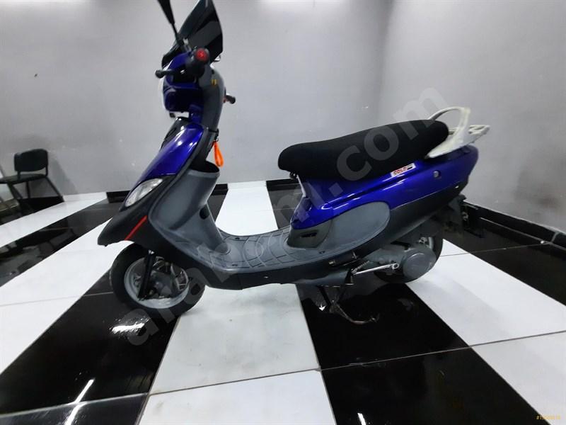 Sahibinden Tvs Scooty Pep Plus 2006 Model Antalya 3.780 Km Lacivert