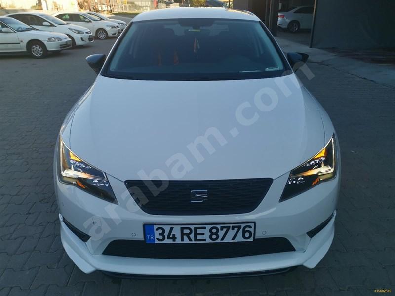 Sahibinden Seat Leon 1.6 Tdi Style 2016 Model İstanbul 62.300 Km Beyaz